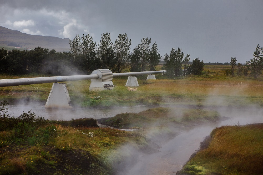 geothermal power station in iceland